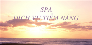 Tiềm năng của nghề SPA
