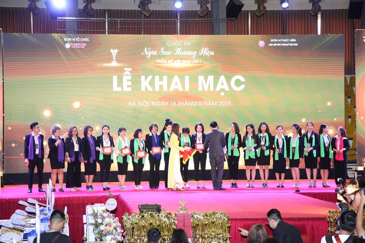 Lễ khai mạc Cuộc thi Ngôi sao thương hiệu Thẩm mỹ (Ngày 15/05/2019)
