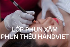 LỚP PHUN XĂM PHUN THÊU HAND VIỆT