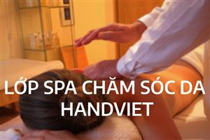 LỚP CHĂM SÓC DA- SPA