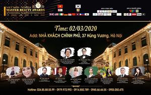 CUỘC THI TAY NGHỀ QUỐC TẾ MASTER BEAUTY AWARD VIỆT NAM - KOREA 2020