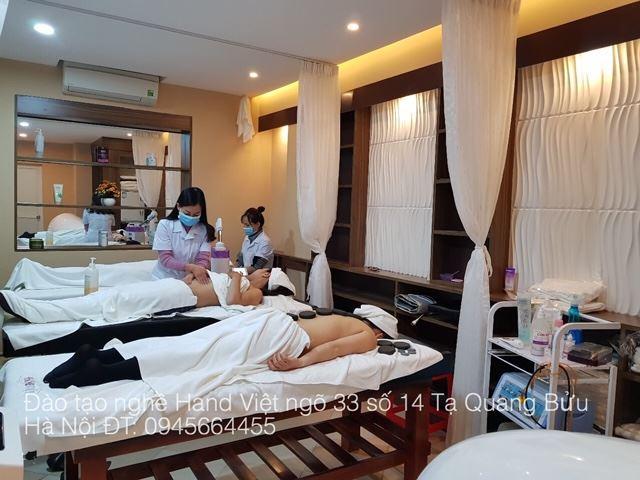 Khóa học Spa tại Hand Việt