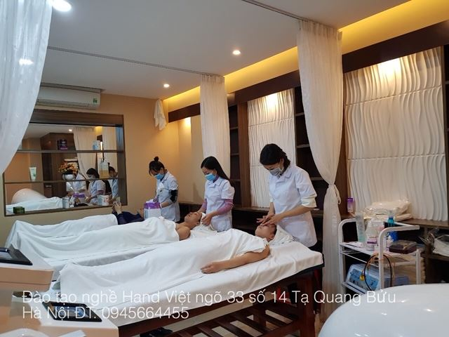 Học Spa tại Hand Việt