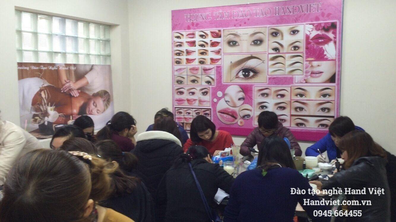 Một số hình ảnh về lớp học của Hanviet